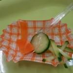 子どもたちが食べた野菜